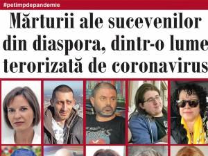 Mărturii ale sucevenilor din diaspora, dintr-o lume terorizată de coronavirus
