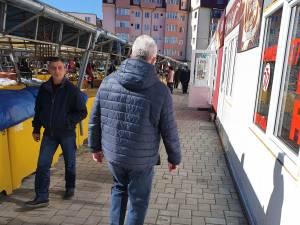 Modernizarea Pieței George Enescu, verificată în teren de primarul Ion Lungu