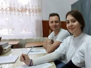 Voluntarii Asociației Tinerilor Ortodocși Suceveni (ATOS)