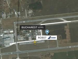Un zbor București – Suceava a fost întors de pe pista Aeroportului București după ce un pasager a avut un acces de tuse