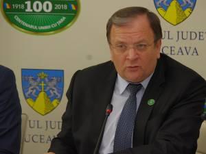 Preşedintele Consiliului Județean Suceava, Gheorghe Flutur