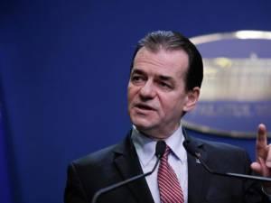 Premierul României, Ludovic Orban. Foto: digi24