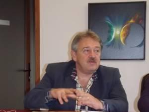 Marius Ursaciuc, primarul oraşului Gura Humorului