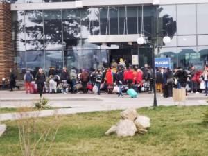O cursă charter cu muncitori a plecat din Suceava spre Germania