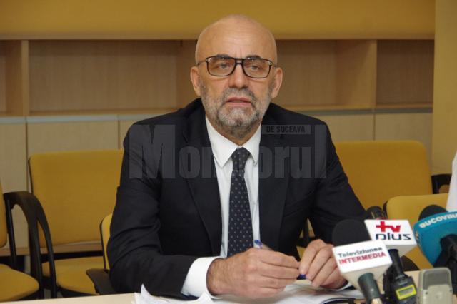 """Vasile Rîmbu, managerul Spitalului Județean """"Sf. Ioan cel Nou"""" Suceava"""
