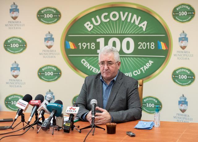 Primarul Sucevei, Ion Lungu – Foto: Ștefan Macedon Gheorghiță