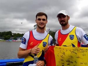 Ciprian Tudosă şi Marius Cozmiuc sunt doi dintre canotorii suceveni care şi-au asigurat calificarea pentru JO de la Tokyo