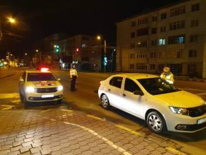Controale în trafic în cursul nopții trecute