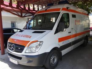 Un asistent medical și un ambulanțier din Serviciul de Ambulanță Suceava, depistați cu Covid-19