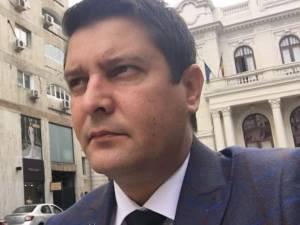 Bogdan Bănică, preşedintele executiv al Sindicatului Naţional al Poliţiştilor din România SNPR DECUS