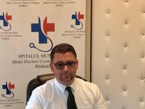 Managerul Spitalului Municipal Rădăuţi, Traian Andronachi