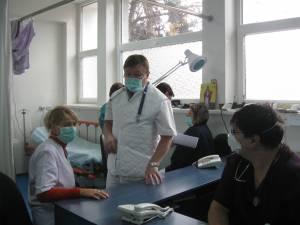 Suceava are 90 de cadrele medicale confirmate cu COVID-19