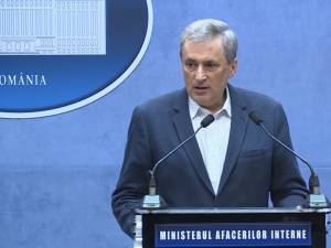 Ministrul de Interne Marcel Vela. Sursa foto europafm.ro