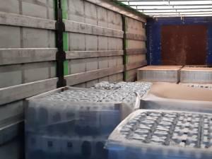 Aqua Carpatica a donat aproape 30.000 de litri de apă pentru spitalele din judeţ