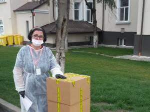 Dona'ii de echipamente pentru Spitalul Judetean din partea unei femei de afaceri din Moara