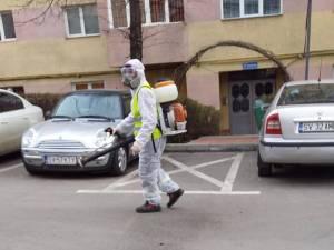 Acțiuni de dezinfecție în aproape 2000 de scări de bloc din Suceava, începând de astăzi