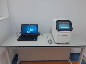 Linia de testare COVID-19 implementată de USV, pusă în funcțiune cu succes la Spitalul Județean Suceava