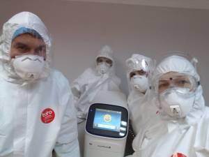 Spitalul Județean are, de astăzi, laborator de biologie moleculară pentru diagnosticarea Covid-19