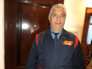 Mihai Budeanu este poștaș de-o viață, în cel mai mare cartier al Sucevei, Burdujeni