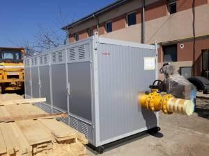 Staţia de reducere a presiunii gazului care va alimenta cartierul Burdujeni Sat