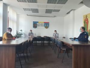 Şedință operativă la Prefectura Suceava
