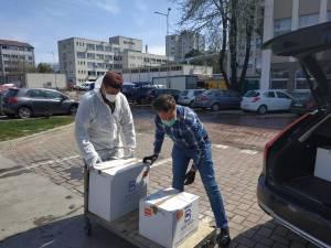 Banii adunați cu sprijinul sucevenilor au ajuns la Spitalul Județean Suceava sub forma a două ventilatoare performante