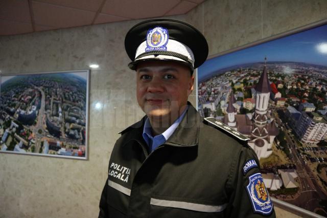 Șeful Poliției Locale Suceava, Ovidiu Doroftei