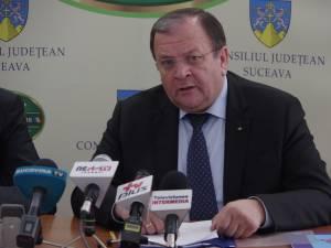 Președintele CJ Suceava, Gheorghe Flutur