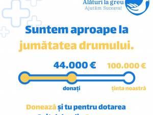 """44.000 de euro strânși din donații, în cadrul campaniei """"Alături la greu"""", lansată de Arhiepiscopia Sucevei și Rădăuților"""