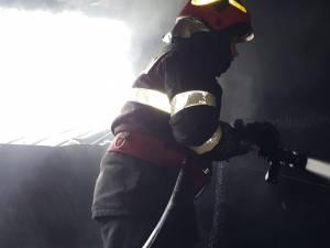 Pagube mari produse de un incendiu într-o gospodărie din Mălini