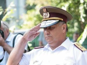Generalul maior în rezervă Ionel Oprea, coordonatorul activității spitalului Foto: MApN