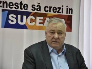 """Ioan Stan este uluit că județul Suceava a primit """"zero lei"""" la rectificarea bugetară"""