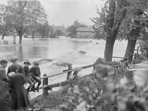 """""""Pagubele causate de inundaţiuni în Bucovina"""""""