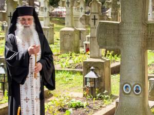 Pomenirea Maicii Benedicta, la Mănăstirea Putna