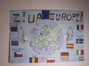 """Ziua Europei, sărbătorită online de elevii Școlii Gimnaziale """"Constantin Morariu"""" Pătrăuți"""