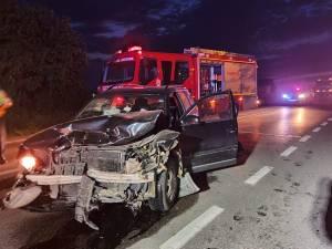 Cum s-a petrecut accidentul de marți seară de la ieșirea din Suceava spre Plopeni