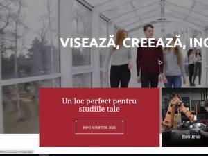 """Universitatea """"Ștefan cel Mare"""" lansează noul website www.usv.ro"""