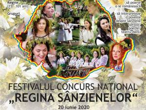 """Festivalul Național Concurs """"Regina Sânzienelor"""", ediția a VI-a, se mută în mediul online"""