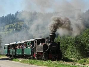Cu Mocănița pe Valea Moldoviței