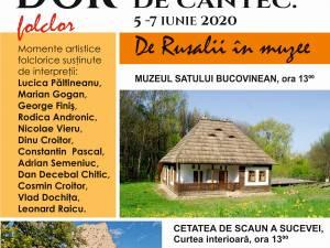 Minispectacole în aer liber la Muzeul Satului Bucovinean și în Curtea Interioară a Cetății de Scaun a Sucevei