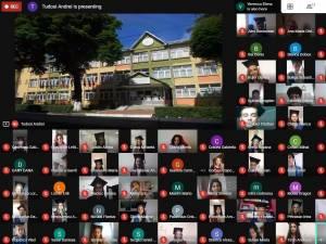 """Festivitate de absolvire online pentru cei 59 de absolvenți de-a VIII-a de la Colegiul """"Mihai Eminescu"""""""