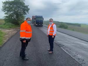 Flutur a făcut o vizită de lucru pe șantierele de la drumurile naționale la care se execută lucrări de modernizare