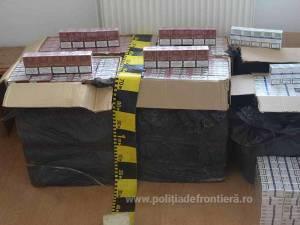 Țigările, în valoare de 87.399 le,i au fost ridicate în vederea confiscării