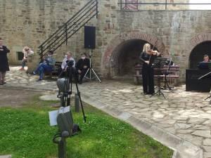 Balada lui Ciprian Porumbescu a incantat oaspetii in Cetatea Sucevei