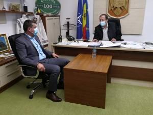 Gheorghe Flutur a discutat cu directorul ANCPI despre programul de cadastrare gratuită a localităților din județ