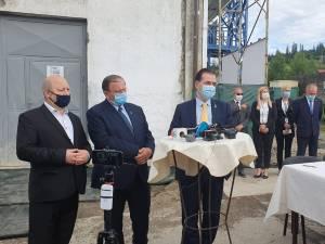 Semnarea contractului pentru începerea lucrărilor s-a făcut sâmbătă, 20 iunie, în fața centralei de cogenerare de la Vatra Dornei