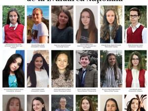 Ei sunt cei 19 elevi de nota 10 de la Evaluarea Națională