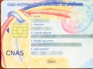Cardul de sănătate redevine obligatoriu. Foto: cardulnationaldesanatate.ro