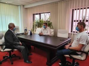 Primarul Ion Lungu s-a întâlnit cu reprezentanții echipei Foresta