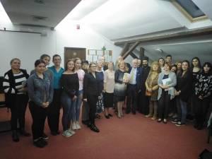 O întâlnire emoționantă cu scriitorul și jurnalistul francez Jean-Yves Conrad a reunit elevi, studenți, cadre didactice și suceveni